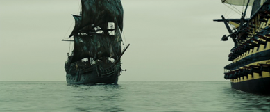 Black Pearl gegen Endeavour
