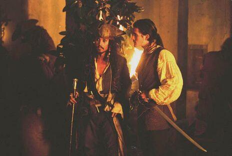 Will und Jack in Tortuga