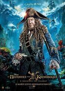 Hector Barbossa Fluch der Karibik 5 Poster 2