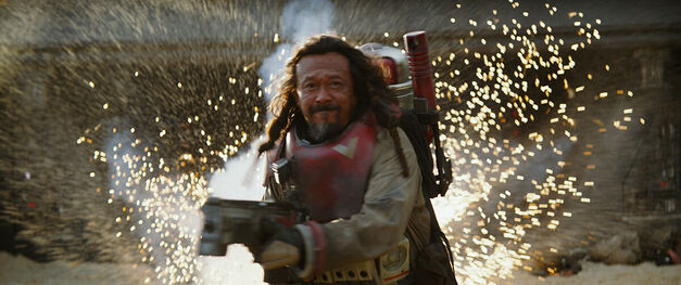 Rogue One: A Star Wars Story (Jiang Wen) Ph: Film Frame ©Lucasfilm LFL