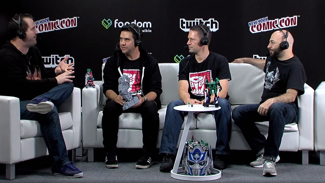 Twitch stage at New York Comic-Con