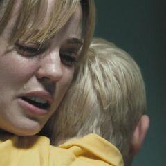 Jess comforts Tommy.