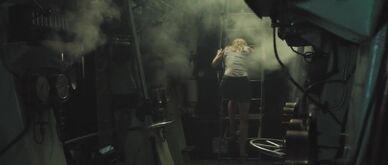 In boiler room