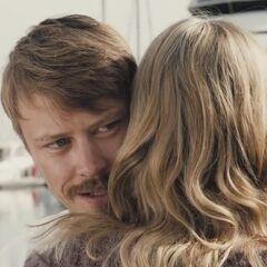 Hugging Jess.