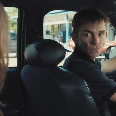Driver speaks to Jess.