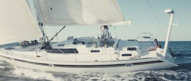 Triangle sailboat