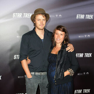 At the Star Trek premiere.