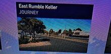 East Rumble + Keller Road