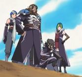 Hoki and his men