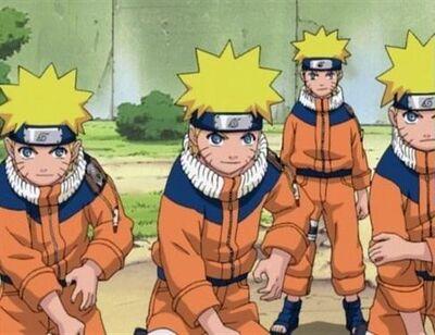 Naruto's signature jutsu