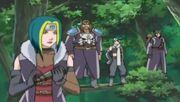 Hoki and his men after kidnapping Matsuri