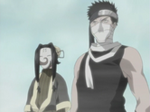 Zabuza and Haku on the bridge