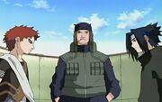 Gaara vs. Sasuke Chunin Exam