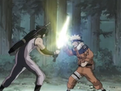 Naruto clashes with Aoi