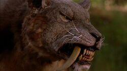 Sabretooth tiger(Sabretooth 2002)