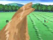 Gaara battling Kimimaro