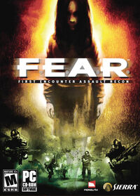 FEAR DVD box art
