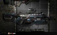 Assault rifle Another Concept art