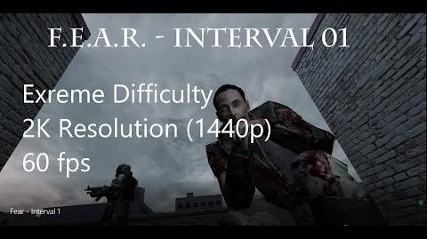 F.E.A.R. - Interval 01 (Extreme Difficulty, All Collectibles, 1440p)