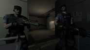 F.E.A.R. - Armacham Security Guard (2)