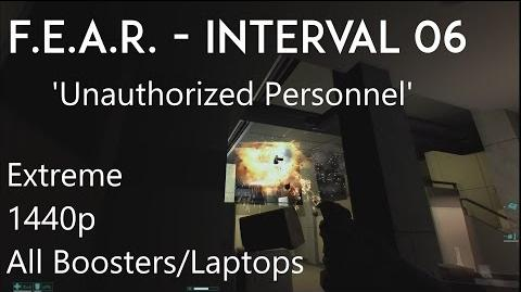 F.E.A.R. - Interval 06 'Unauthorized Personnel' - 1440p, All Collectibles