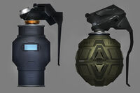 F.E.A.R. 3 concept of grenades