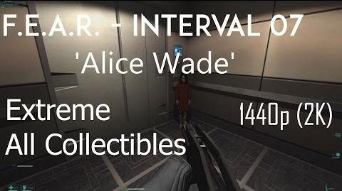 F.E.A.R. - Interval 07 'Alice Wade' - Extreme, All Collectibles, 1440p