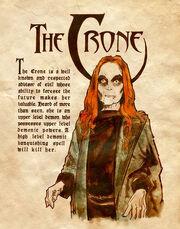 Crone charmed