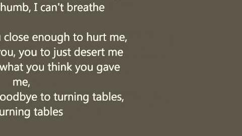Adele - Turning Tables with lyrics