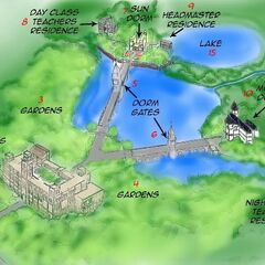 <b>Detailed Map of Point Dume Academy</b>