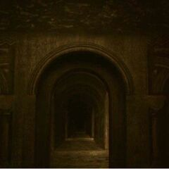 One of the many corridors leading to the old dungeons of Point Dume Academy