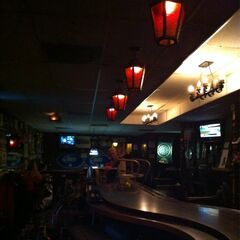 The bar inside Foxfire