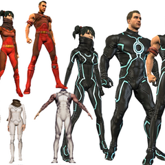<i>Variation of the  Point Dume Academy Uniforms for going into the simulation room</i>
