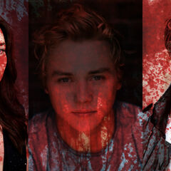 Promotional Poster of The Outsiders - Made by user Queen Steph
