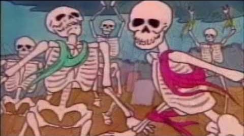 Danse Macabre Camille Saint-Saëns 1980s cartoon, P