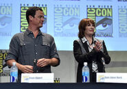 David Alpert and Gale Anne Hurd SDCC2015