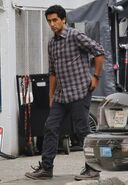 Cliff Curtis in Vancouver S1