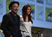 Ruben Blades and Mercedes Mason SDCC2015