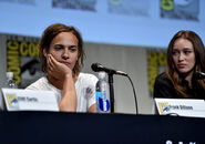 Frank Dillane and Alycia Debnam-Carey SDCC2015