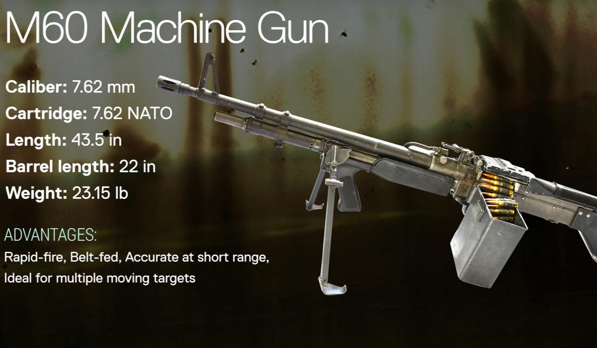 M60 Machine Gun | Fear the Walking Dead Wiki | FANDOM