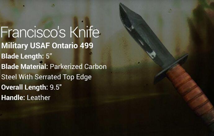 Francisco's Knife