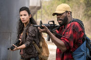 Danay Garcia and Colman Domingo