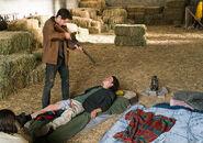 Brandon shoots James in the head