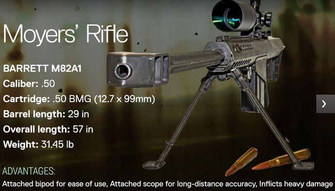 Moyer's Rifle