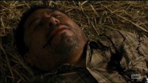 Death of Matias Suarez Fear The Walking Dead