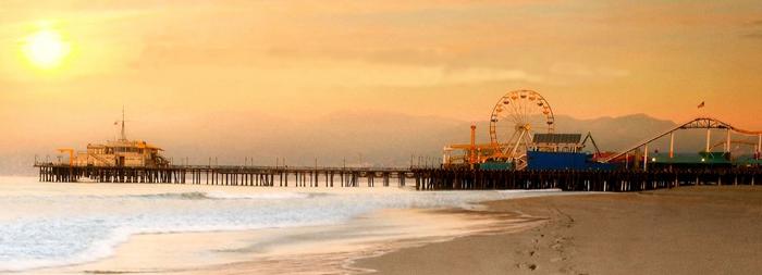 Santa Monica Pier Page Header HiRes