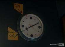 Clark home kitchen clock