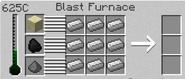 Blast furnace interface