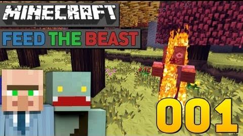 BEGINN DER REISE! - 1 - Minecraft Feed The Beast