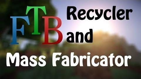 FTB IC2 Recycler and Mass Fabricator Spotlight
